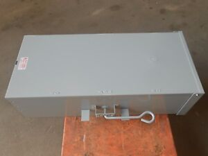 GE TC10324R 200 Amp  2 Pole 1 Phase Manual Double Throw Transfer Switch