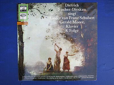 Franz Schubert Lieder Fischer-Dieskau Gerald Moore LP