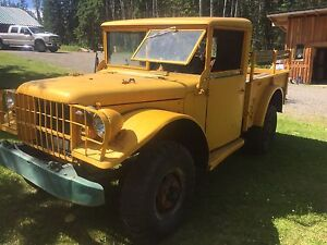 M37CDN Military Dodge Power Wagon