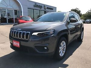 2019 Jeep Cherokee North 4x4 V6 w/Heated Seats, Remote Start
