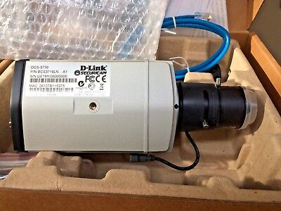 NIB...D-Link DCS-3716 Full HD WDR PoE Day and Night Fixed Network Camera
