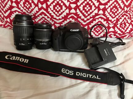 Canon digital SLR 550D with Twin lens kit great condition