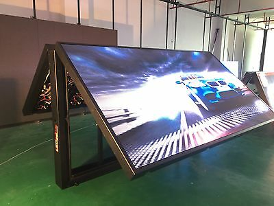 P8 Series 52 X 102 4x8 Double Sided Programmable Full Color Outdoor Led Sign