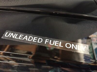 Chevrolet - Pontiac - Buick - Oldmobile 1974 - 1979 UNLEADED FUEL ONLY decal