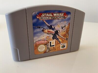 STAR WARS ROGUE SQUADRON NINTENDO 64 N64 Cart only PAL CLEANED AND TESTED