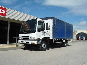 Isuzu FRR500 Curtainsider Regency Park Port Adelaide Area Preview