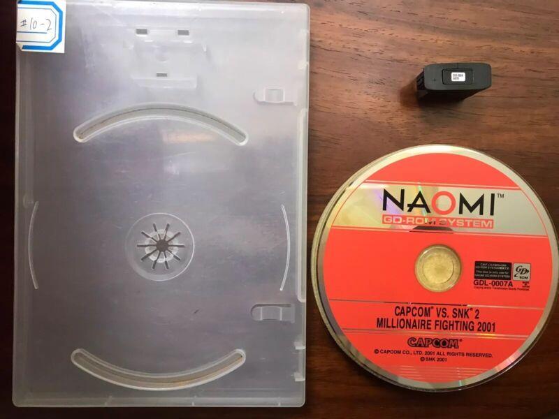 naomi Capcom Vs SNK 2 : Millionaire Fighting 2001 arcade
