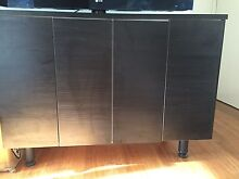 Cupboard/buffet can be altered to be stacked taller and thinner Windsor Stonnington Area Preview