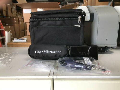 JDSU Viavi P5000i Fiber Optic Microscope + Accesories