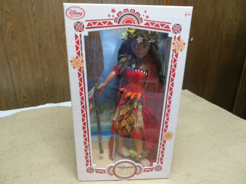 Disney Limited Edition Chief Outfit Moana Doll