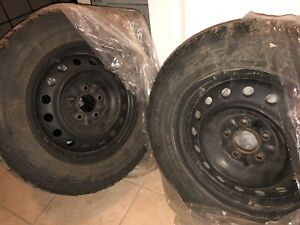 Winter Tires 225/60/R16 negotiable