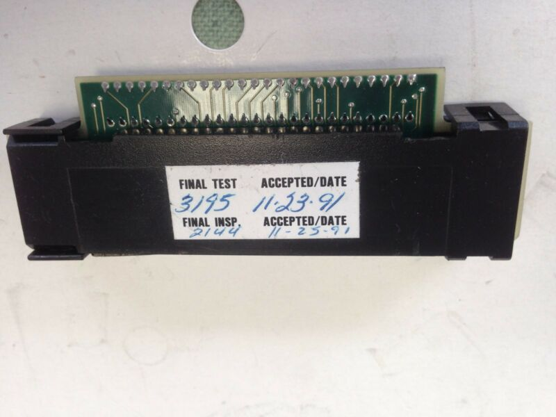 USED AS-M780-048 GOULD MODICON MODULE MEMORY EXECUTIVE CARTRIDGE ASSEMBLY FE