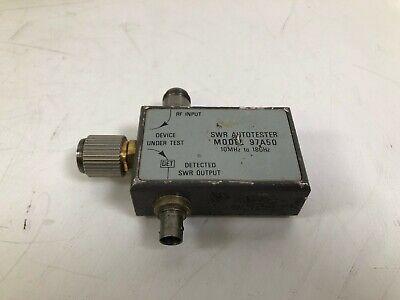 Wiltron 97a50 Swr Autotester 0.01 - 18 Ghz 40 Db Directivity