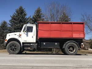Heavy Spec Auto bin truck with 4 bins