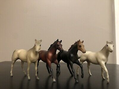 Lot of Four Vintage Breyer Stablemates