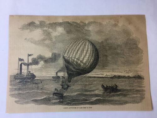 1877 magazine engraving - LOWE