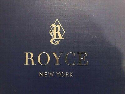 Royce Leather Zippered Portfolio W Note Pad 3 Ring Binder Black - Free Ship