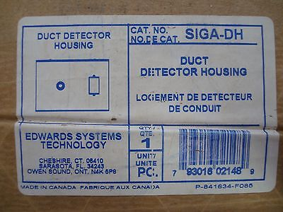 Edwards Systems Technology Siga Dh Duct Detector Housing Fire Alarm  1Z 1103 7