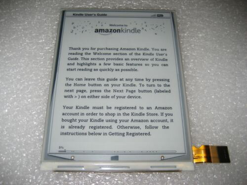 Kindle Keyboard 3 LCD Screen Replacement, ED060SC7(LF)C1, D00901 TESTED #S-01