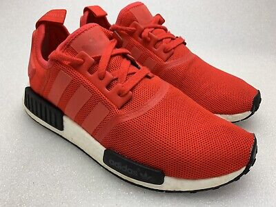 ADIDAS NMD_R1 Nomad Boost Clear Red SIZE 9 US BB1970 Sample Pair Limited (Limited Edition R1)