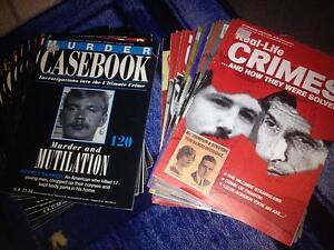 True crime books & magazines Melrose Park Parramatta Area Preview