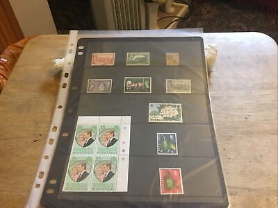Montserrat Mixed Stamps Lot