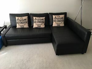 Black Sofa Bed IKEA Maroubra Eastern Suburbs Preview