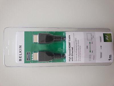 Câble adaptateur HDMI High Speed NEUF 1 m BELKIN