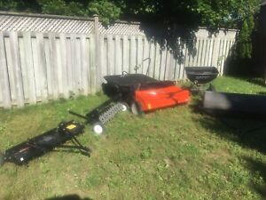 Lawn  Tractor equipment