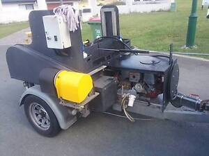 Wheelie bin cleaning trailer for sale Biggera Waters Gold Coast City Preview