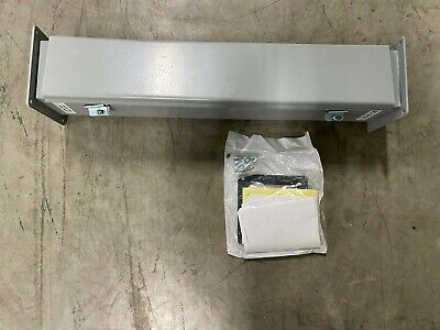 Hoffman 4 Electrical Enclosure 24 Wire Trough With Hinged Lid