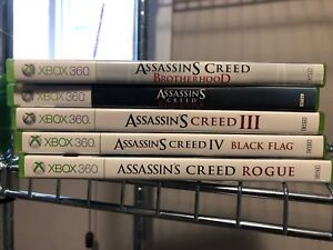 XBox 360 Assassin's Creed Games