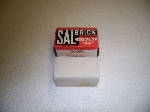 SALBRICK- 1 LB.-SAL-AMMONIAC-NEW-N.O.S.-MADE IN U.S.A.-SUPPLY HOUSE LIQUIDATION!