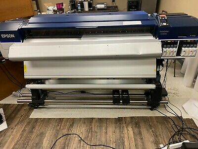 Epson Sc S60600 64 Wide Format Solvent Printer Laminator 64graphtec Plotter