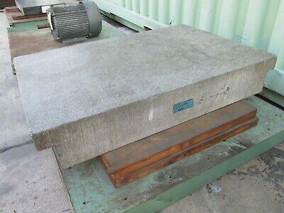 Rahn Granite Surface Plate Company Granitru 36 X 24 X 6 Ledge Type