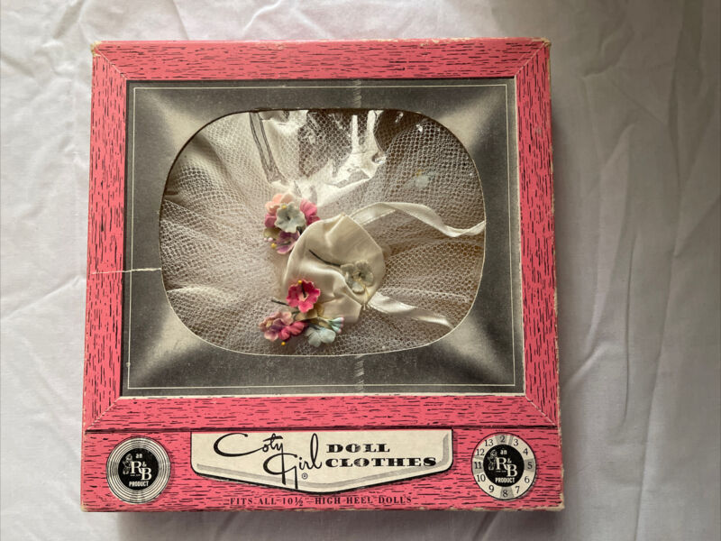 "Arranbee 10 1/2"" Miss Coty Girl Ballerina Outfit With Box #124"