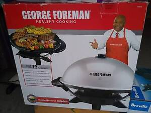 George Foreman indoor/outdoor BBQ grill 12 Brandnew Hampstead Gardens Port Adelaide Area Preview