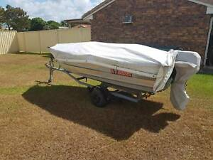 Tinny/Car Topper - Roof Side Loading System - Boat Trailer