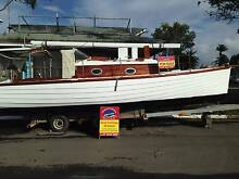 Custom Clinker Motor Sailer Coomera Gold Coast North Preview