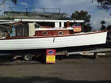 Custom Clinker Motor Sailer Coomera Gold Coast North Preview