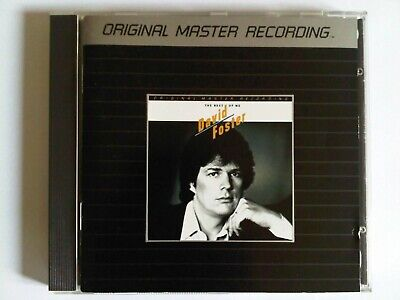 DAVID FOSTER BEST OF ME - MFSL JAPAN CD - WESTCOAST AOR JAY GRAYDON RICHARD