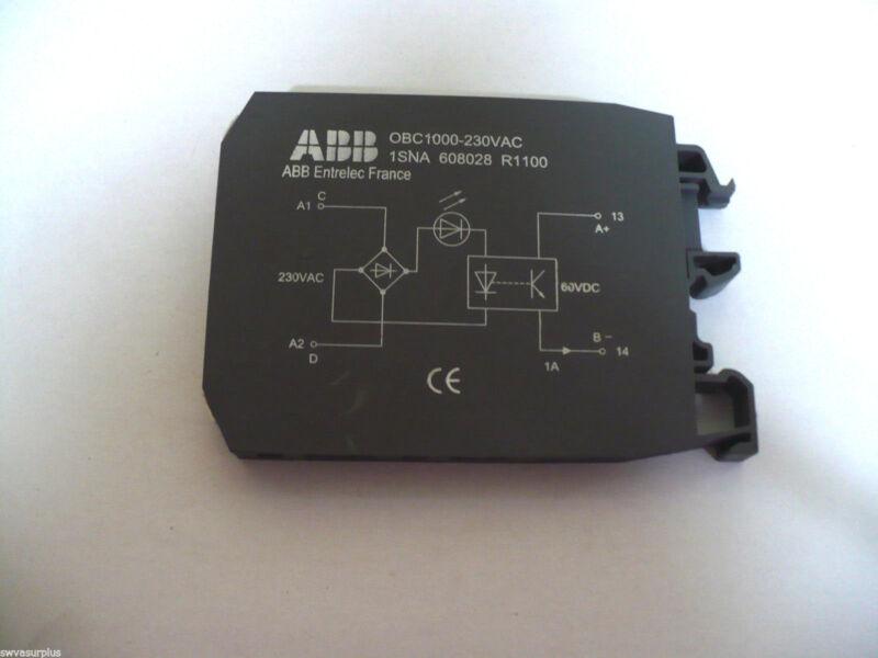 ABB OBC1000-230VAC Optocoupler, New