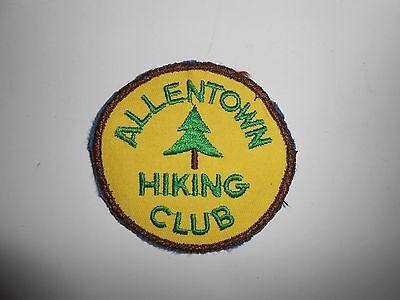 "Vintage 70s Allentown Pennsylvania Hiking Club Patch 3"""