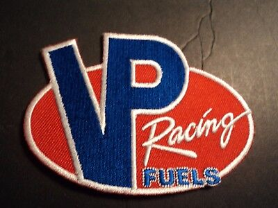 VP RACING FUELS embroidered iron on patch NHRA NASCAR Sprint Car - Sprint Car Fuel