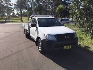 2010 TOYOTA HILUX WORKMATE MANUAL TGN16R ALLOY TRAY UTE,1 OWNER Westmead Parramatta Area Preview
