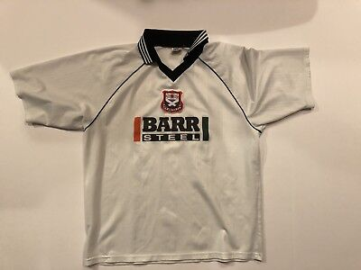 VERY RARE AYR UNITED F.C. SPECIAL 1998/1998 BFM Sports Football SHIRT JERSEY image