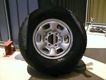 Toyota Hilux 4x4 SR5 Spare Wheel & Tyre Cobram Moira Area Preview