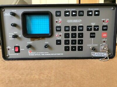 Laser Precision Td-9920 Optical Time Domain Reflectometer