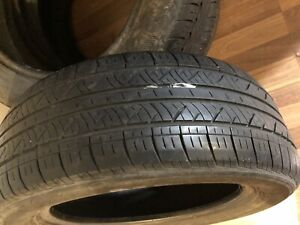 Four used summer tires for sale P205/55 R16
