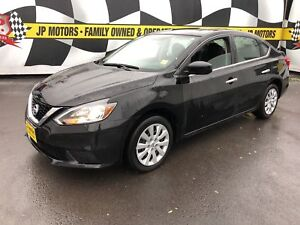 2017 Nissan Sentra SV, Automatic, Heated Seats, Back Up Camera